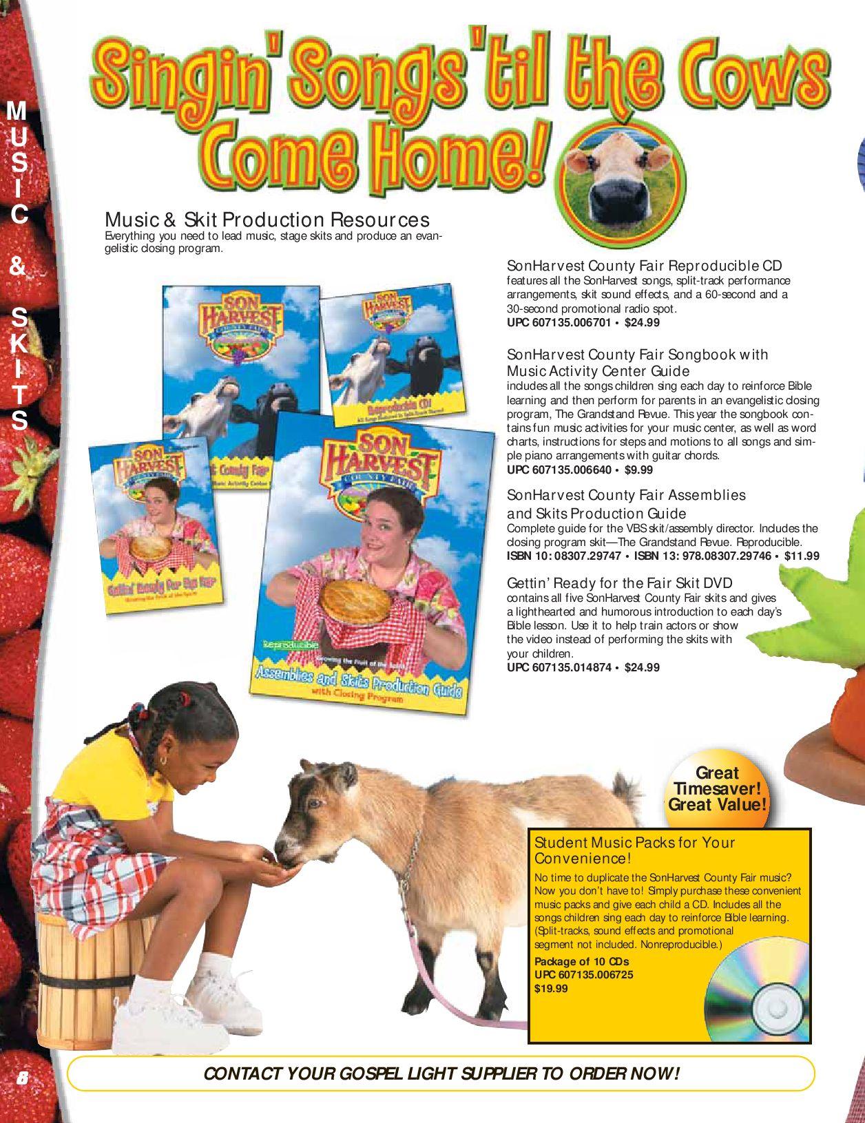 SonHarvest VBS Catalog by Danny B - issuu