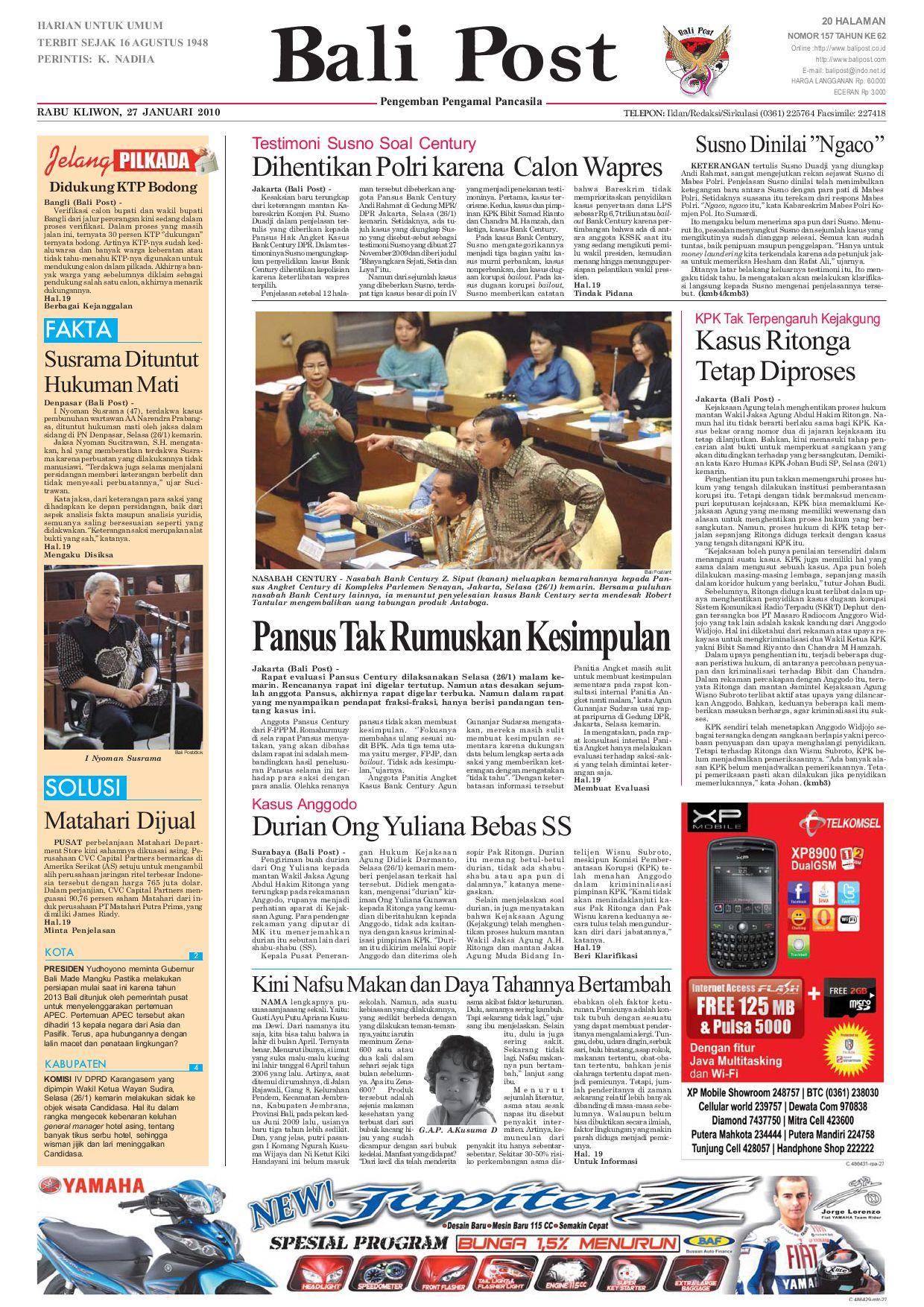Edisi 27 Januari 2010  1486a35a58