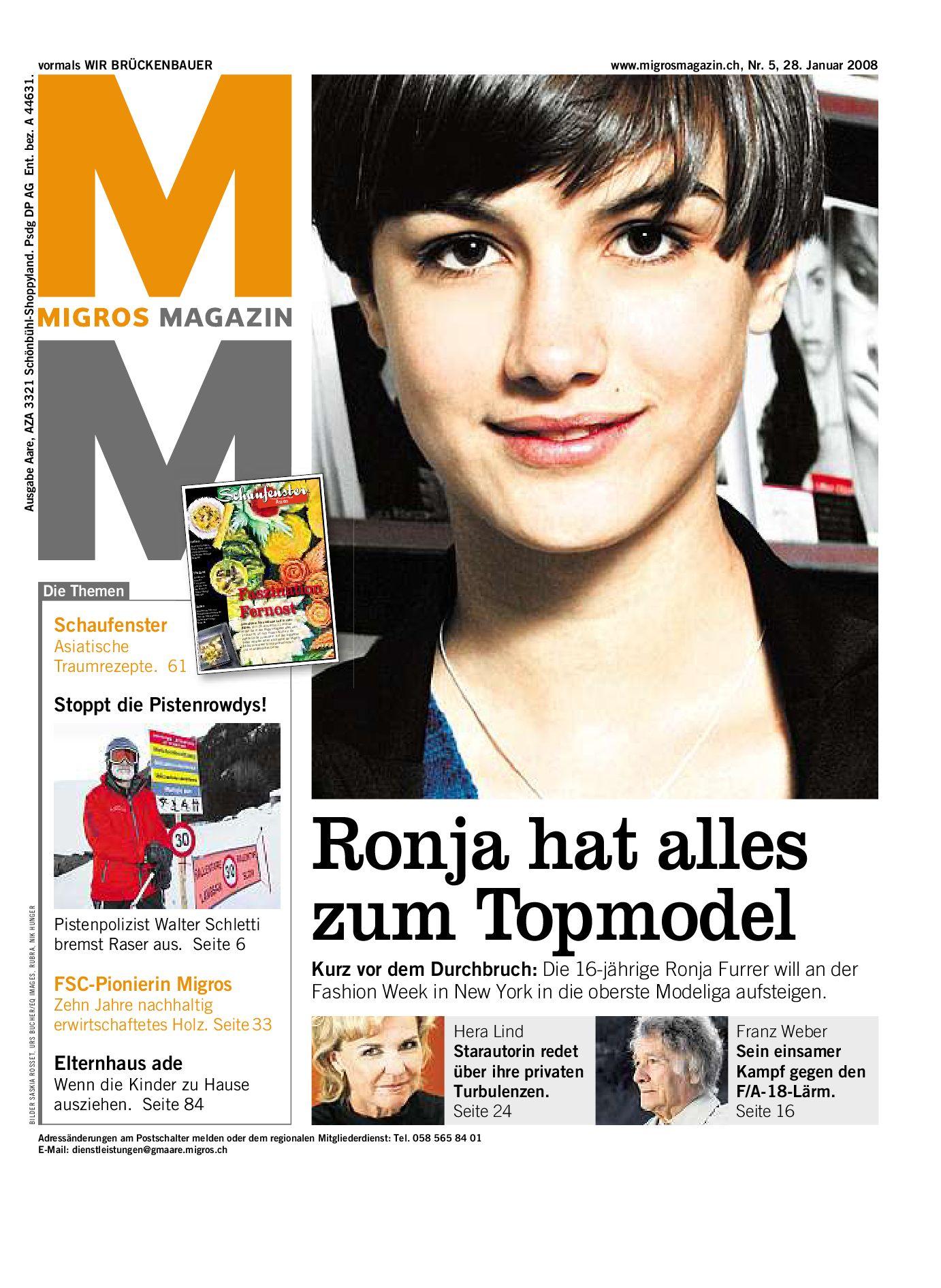Migros Magazin 5 2008 d AA by Migros Genossenschafts Bund issuu