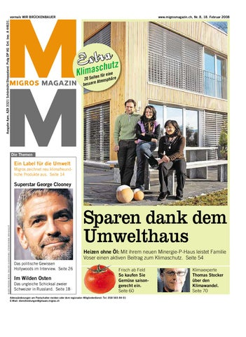3a949373c83588 Migros Magazin 8 2008 d LU by Migros-Genossenschafts-Bund - issuu