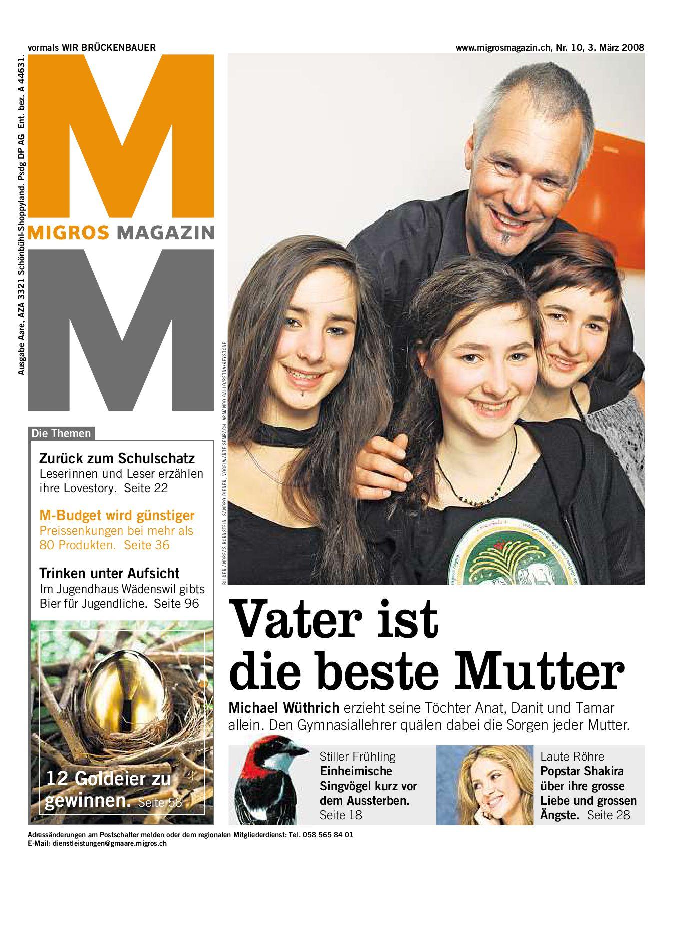 Migros Magazin 10 2008 d AA by Migros Genossenschafts Bund issuu