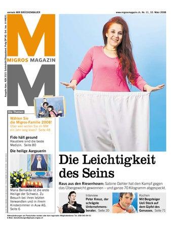 Migros Magazin 11 2008 D Ne By Migros Genossenschafts Bund Issuu