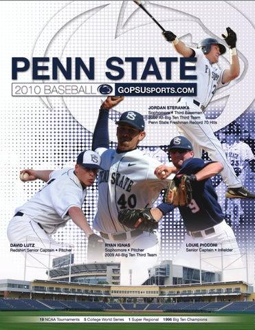 fc715b311a0 2009-10 Penn State Baseball Media Guide by Penn State Athletics - issuu