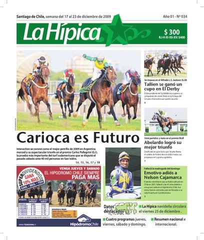 121b8de87 La Hipica Nª 34 by Sebastian Bravo - issuu