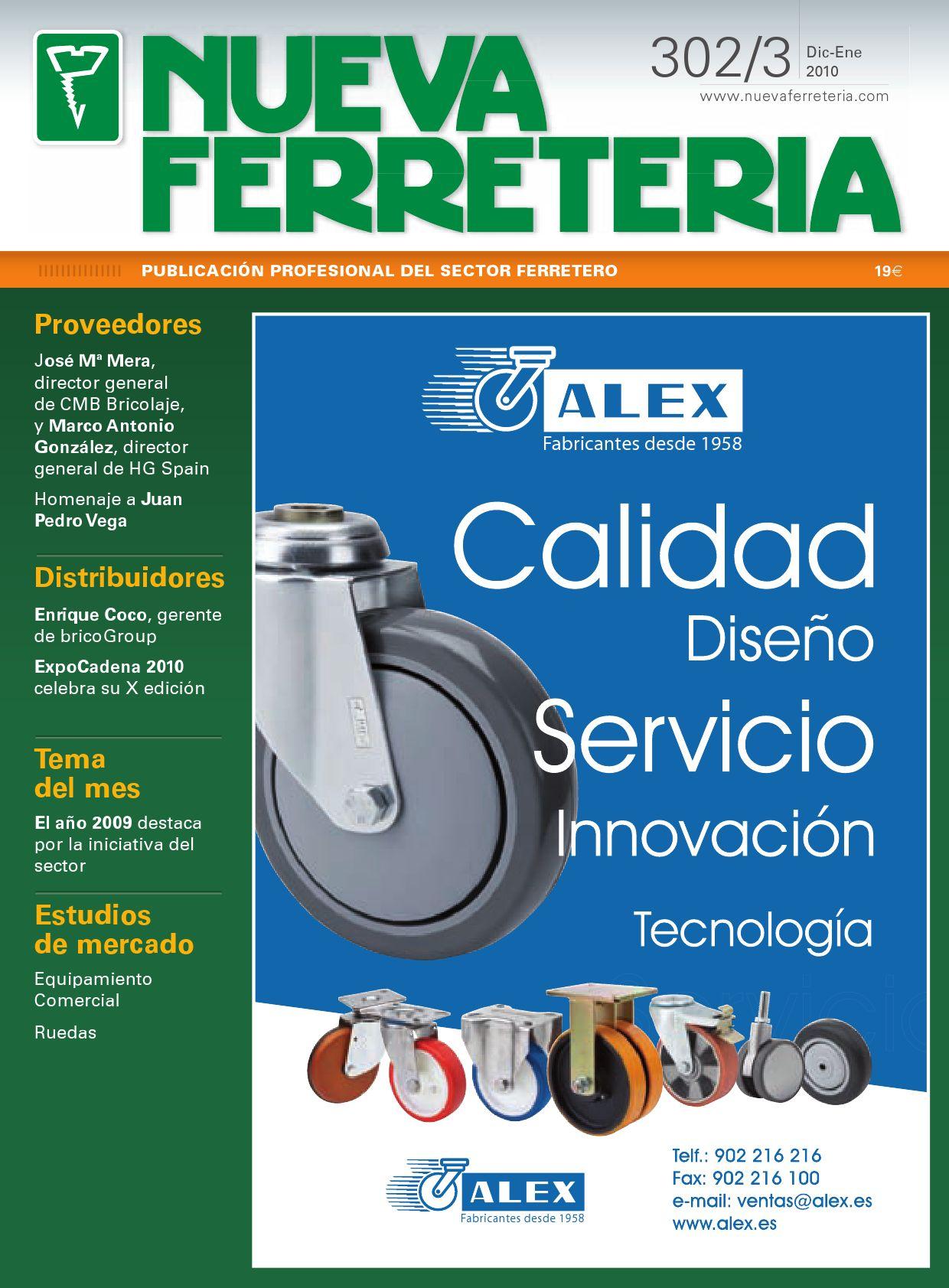 Ferreteria-302-303 by Digital Newspapers S.L. - issuu