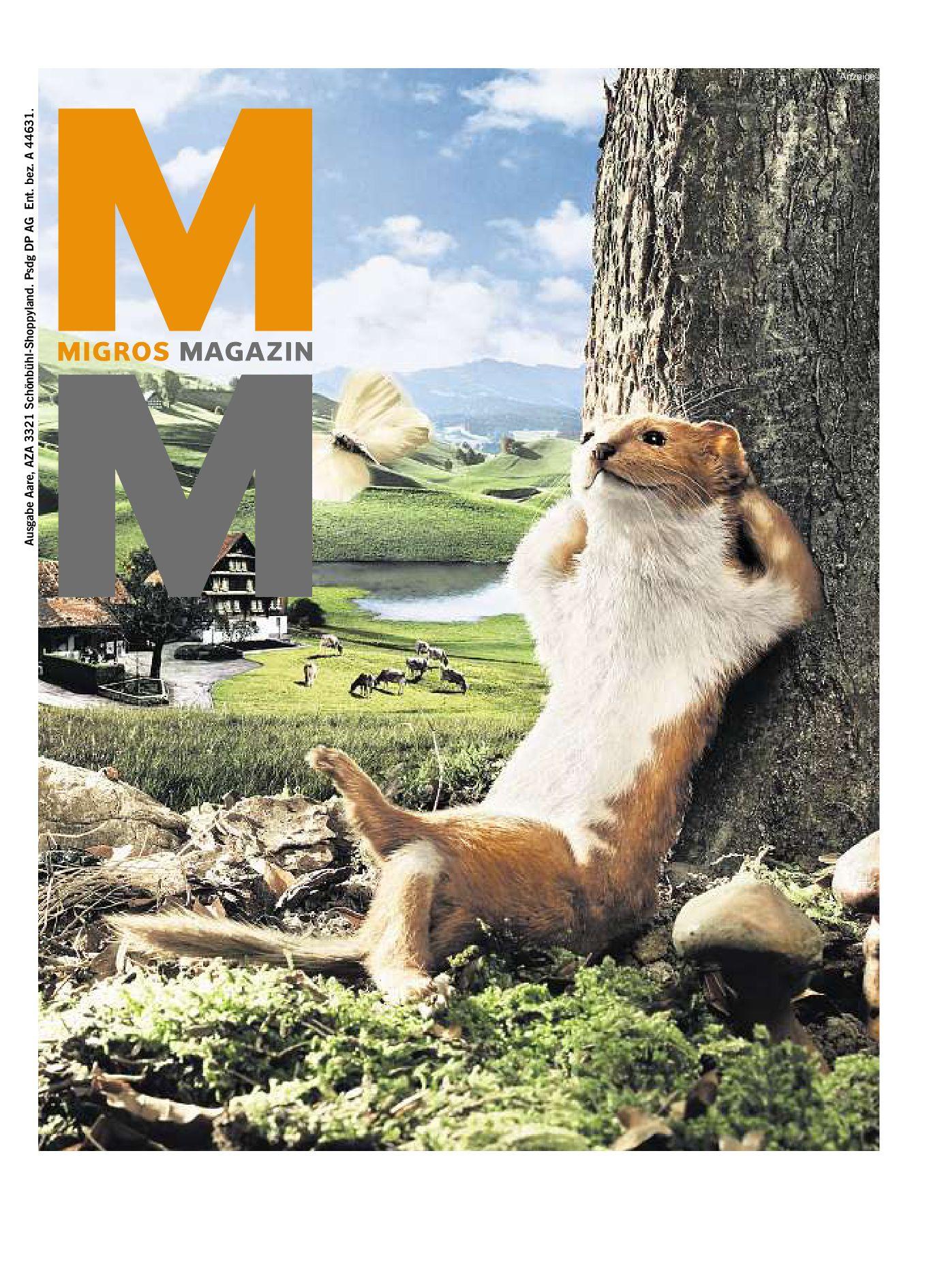 Migros Magazin 16 2008 d AA by Migros-Genossenschafts-Bund - issuu