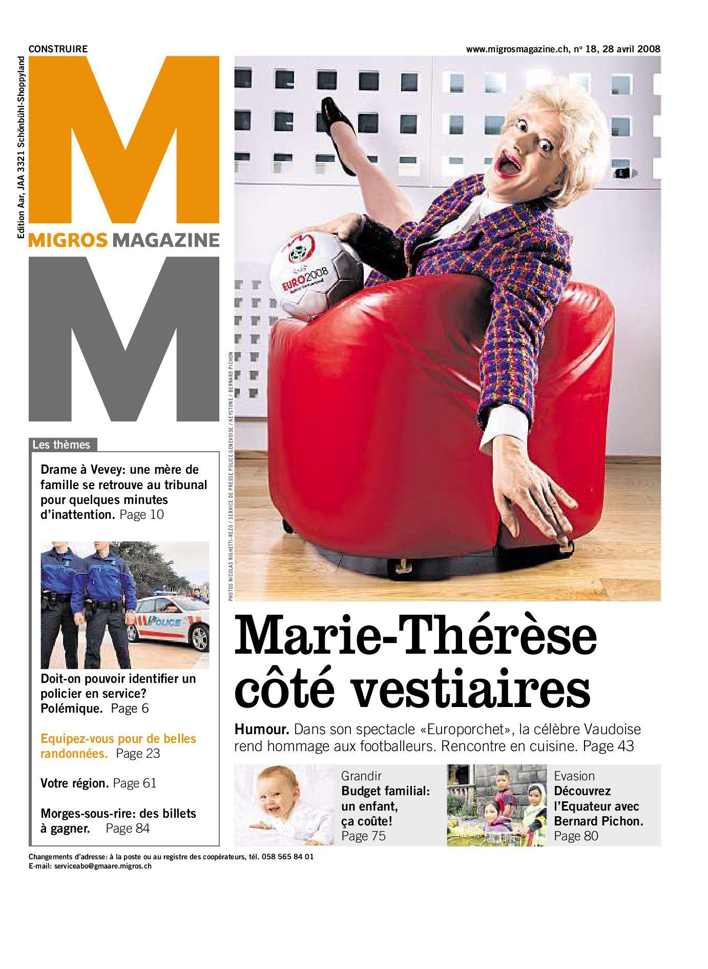 Migros Magazin 18 2008 f VS by Migros-Genossenschafts-Bund - issuu 65a4f0145000