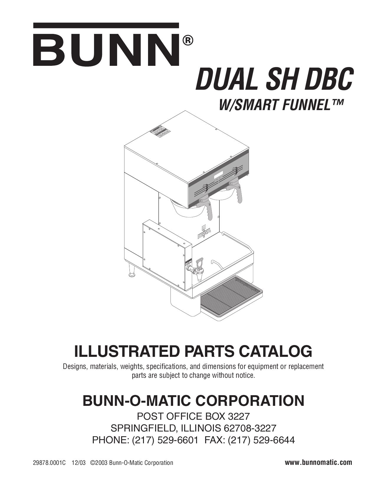 Bunn Probe Repl Kit 20936.1000
