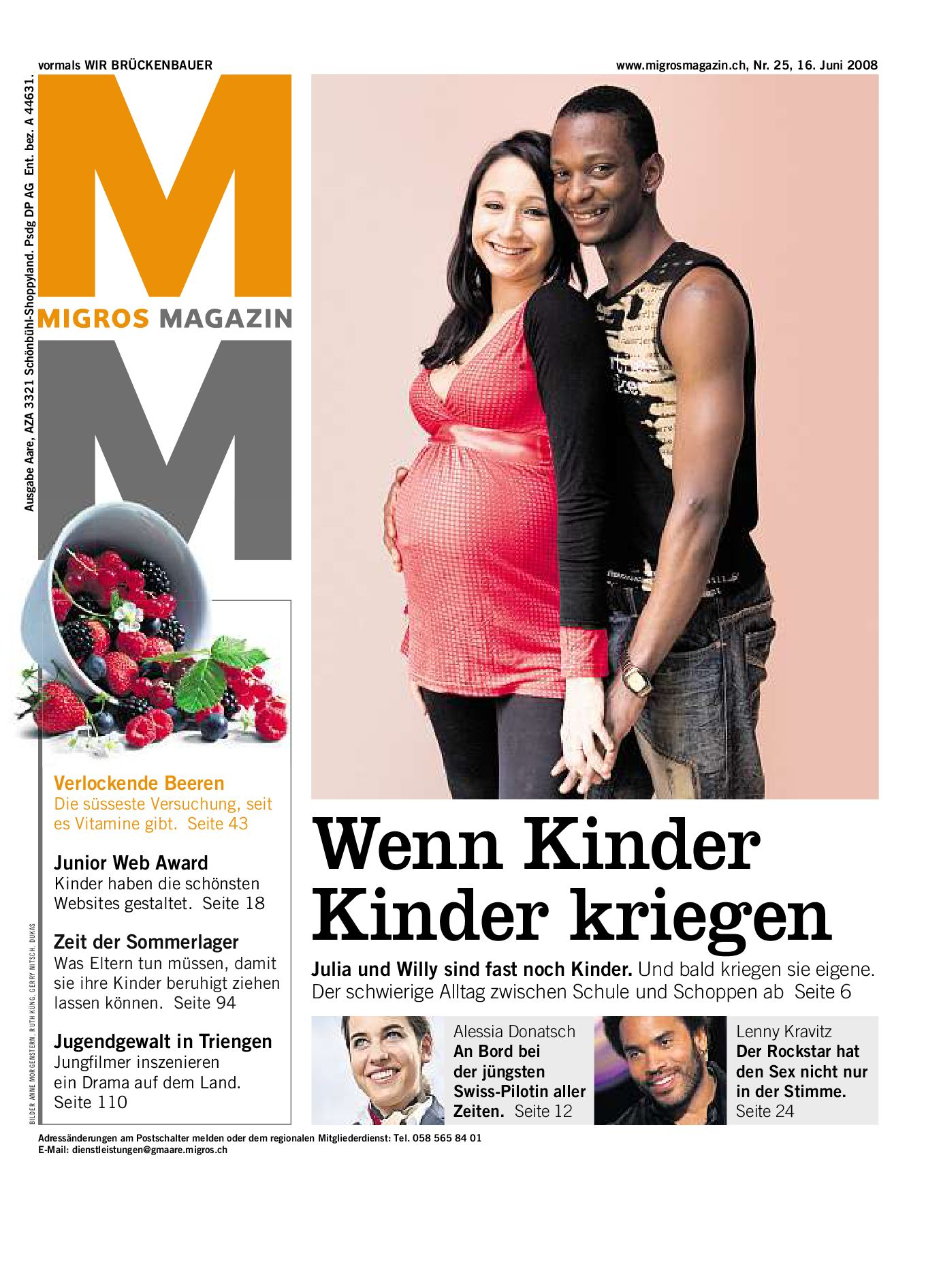 Migros Magazin 25 2008 d VS by Migros-Genossenschafts-Bund - issuu