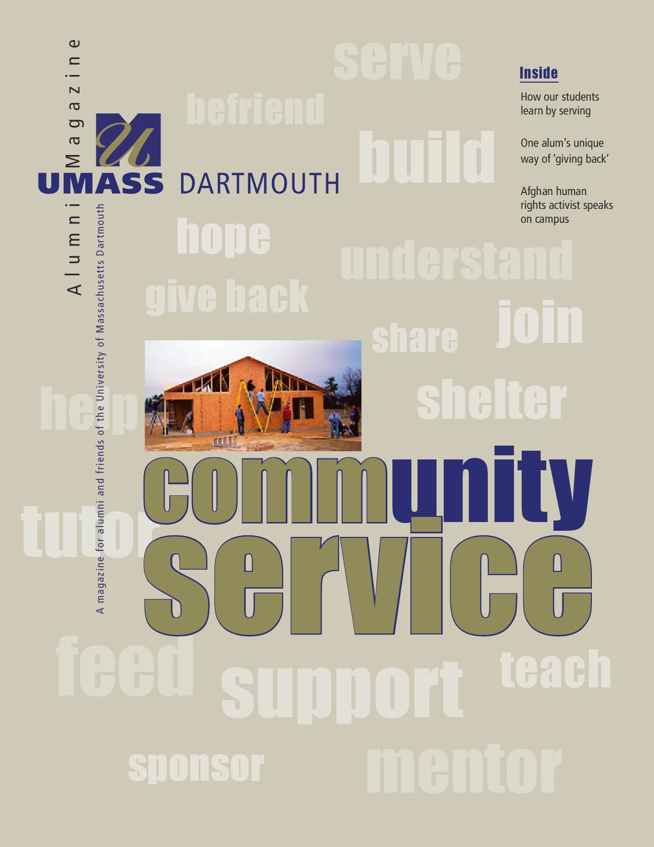 Umass dartmouth magazine spring 05 by umass dartmouth issuu fandeluxe Gallery