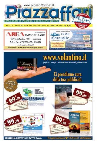 Piazzaffari n° 518 del 29 gennaio 2010 by Marco Cau - issuu e4bc8283b0a