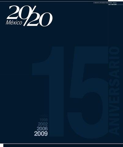 9108d716840cf 20 20 Profesional México. Edición Octubre-Noviembre 2009 by Creative ...