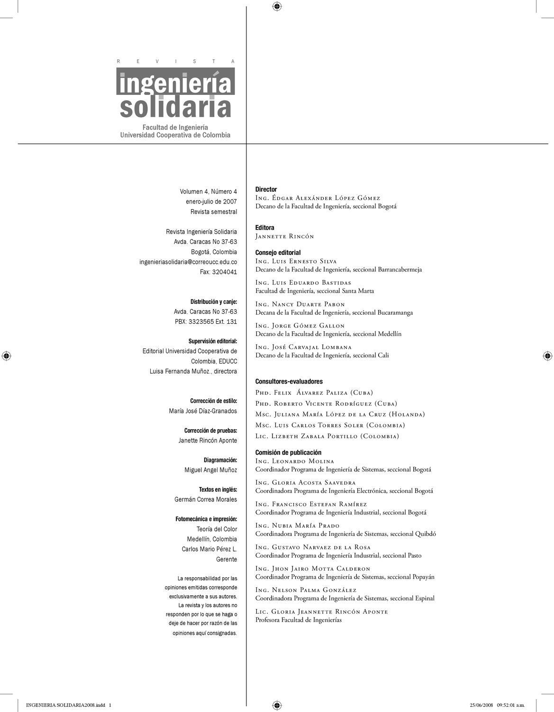 Ingenieria Solidaria Vol. 4 by Martin Delgado - issuu