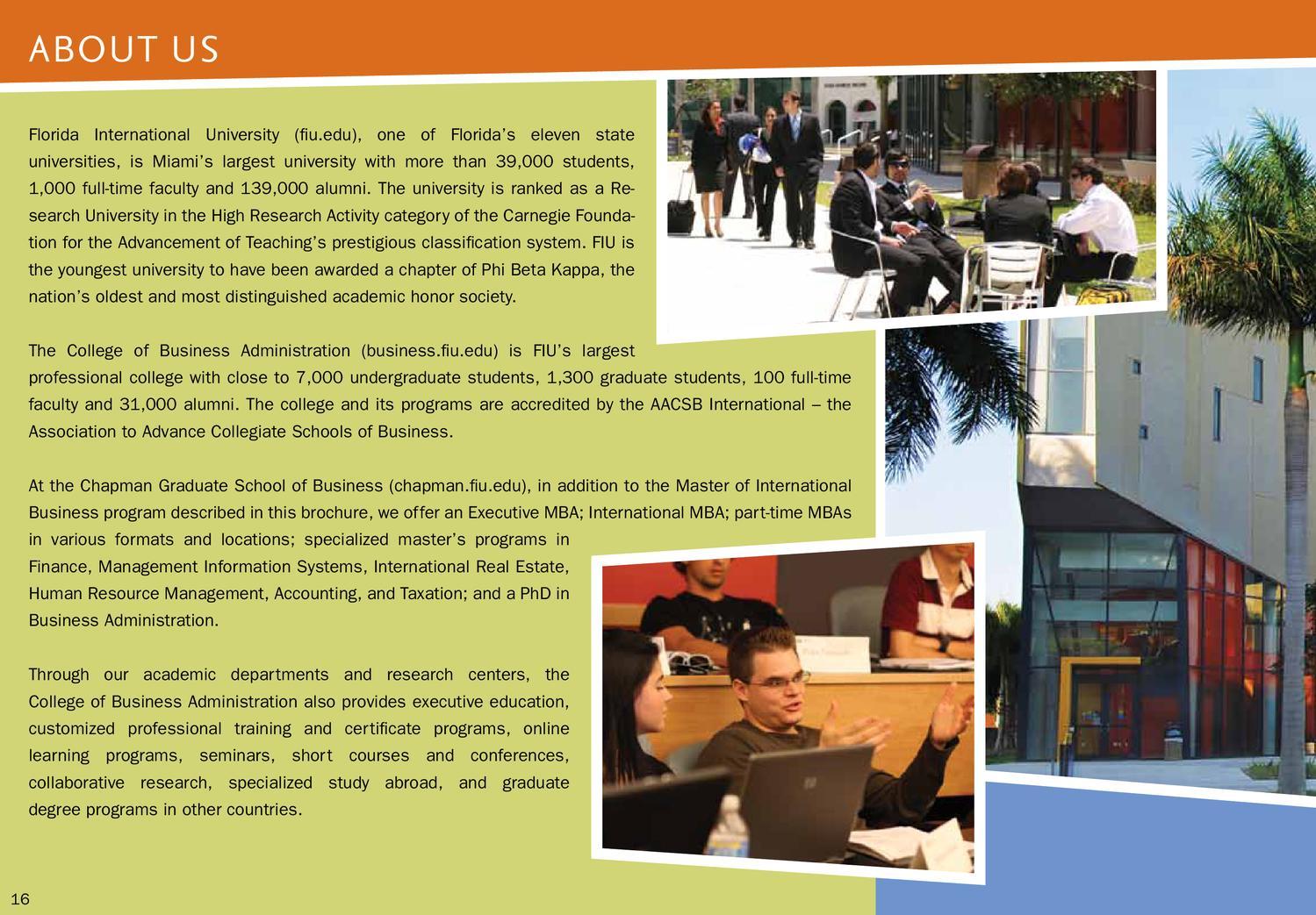 Mib brochure by fiu business issuu 1betcityfo Gallery