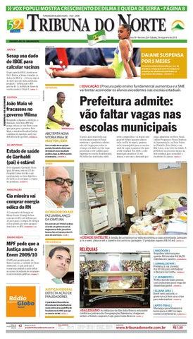 Tribuna do Norte - 31 07 2011 by Empresa Jornalística Tribuna do Norte Ltda  - issuu 5faa76fd87c
