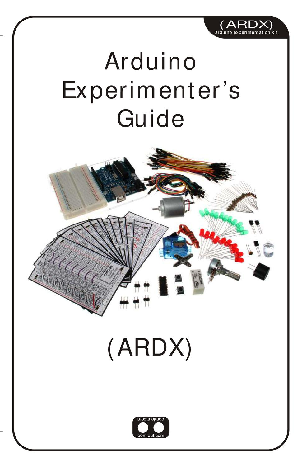 arduino expeimenters guide by isidore postmes