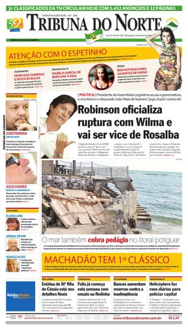 Tribuna do Norte - 31 01 2010 by Empresa Jornalística Tribuna do ... ee7ff28389d5d