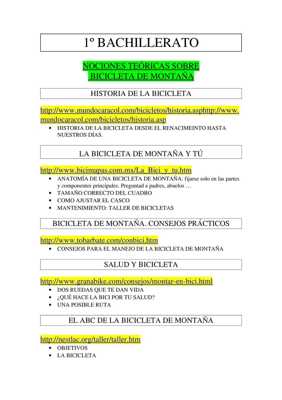 Apuntes teoría BTT by Marcos Gárate Cruz - issuu