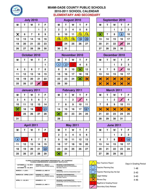 miami dade school calendar by h peters issuu