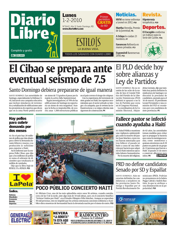 diariolibre2642 by Grupo Diario Libre, S. A. - issuu