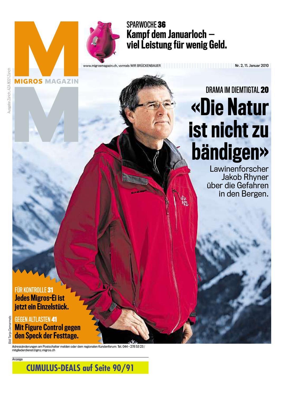 Migros Magazin 2 2010 d ZH by Migros Genossenschafts Bund