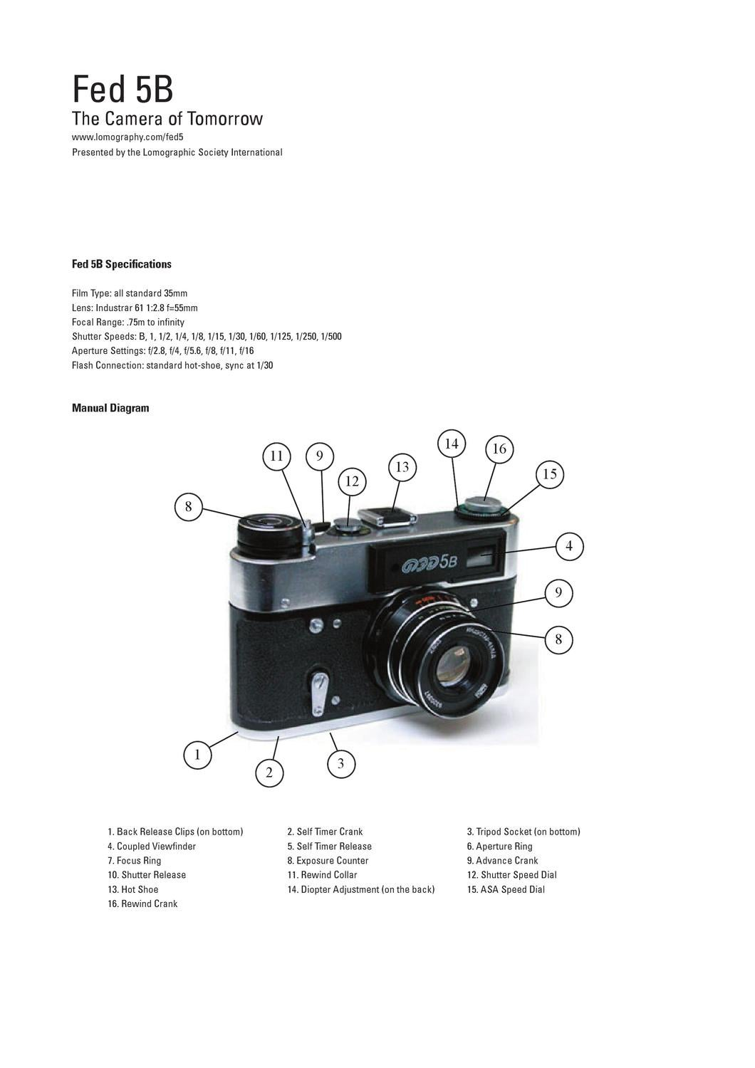 Fed 5b manual by lomographic society international issuu pooptronica Images