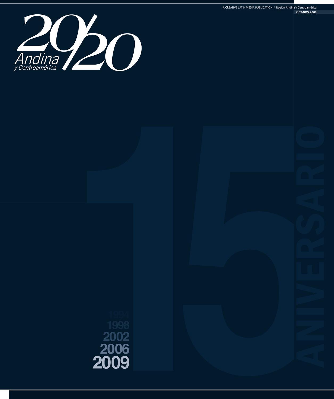 huge discount ff703 a49c9 20 20 Profesional Andina. Edición Octubre-Noviembre 2009 by Creative Latin  Media LLC - issuu
