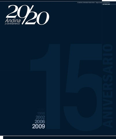 ace42d366e4 20 20 Profesional Andina. Edición Octubre-Noviembre 2009 by Creative ...