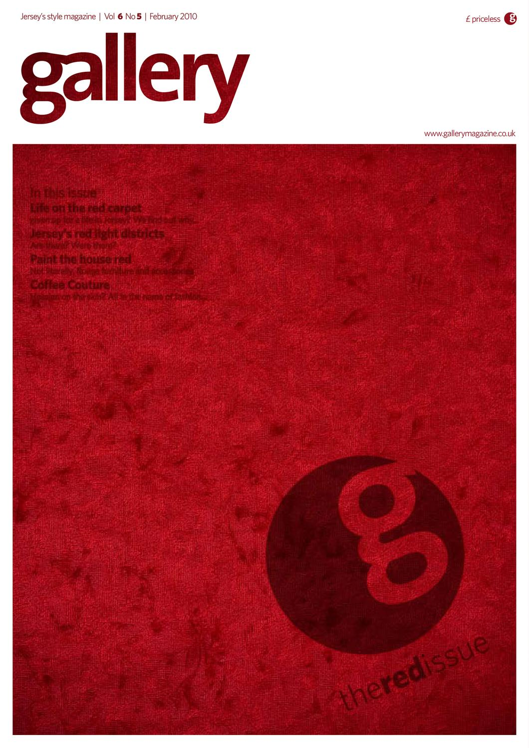 6674cecc549 Gallery 60  The Red Edition  February 2010 by factory - issuu