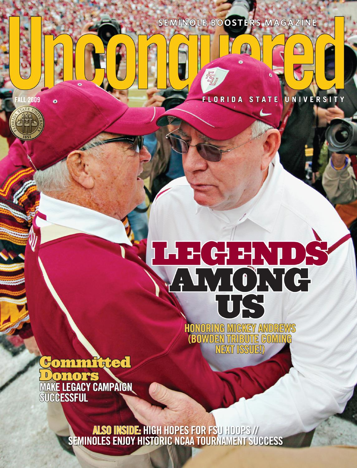 new concept 64548 8fffc Unconquered Magazine Dec2009 by Seminole Boosters Inc - issuu