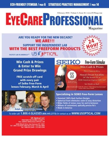 7e788ecf7ad EyeCare Professional Magazine February 2010 Issue by ECP Magazine ...