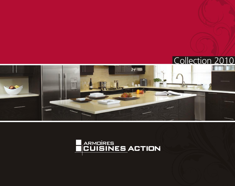 Armoire cuisine action 2010 catalogue by benoit mcnulty - Cuisine action catalogue ...