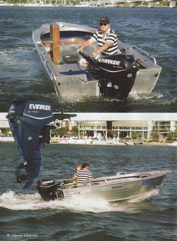 2009 - Evinrude E-Tec 25hp Boat Test