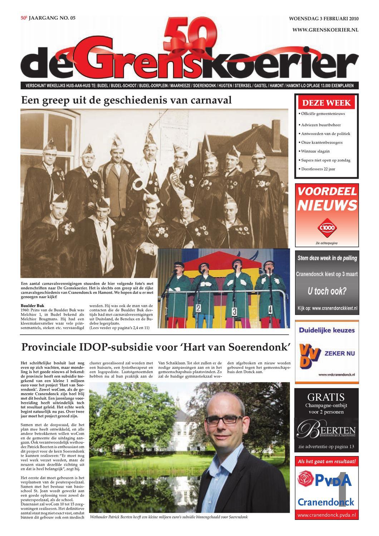 grenskoerier week 05 2010 by De Grenskoerier - issuu