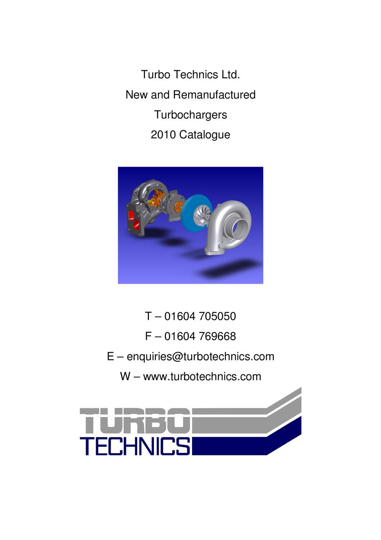 Turbo Technics catalogue by Turbo Technics Ltd - issuu