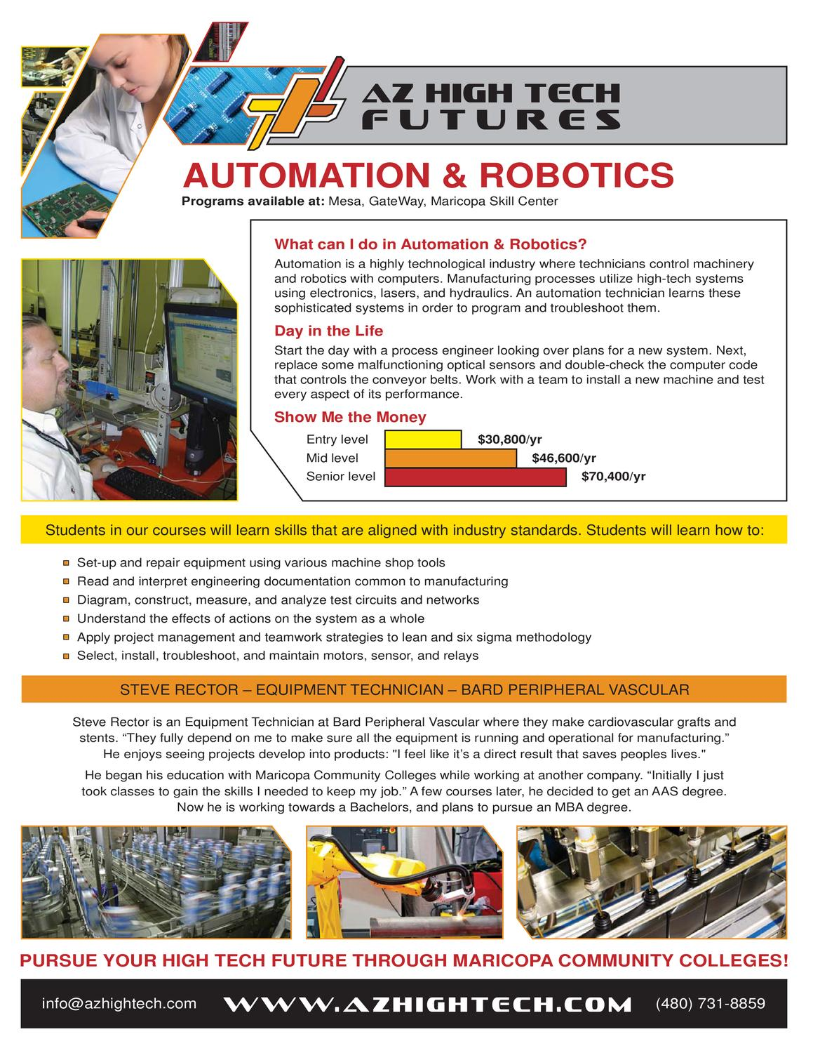 http://azhightech com/pdf/automation_brochure1 by The