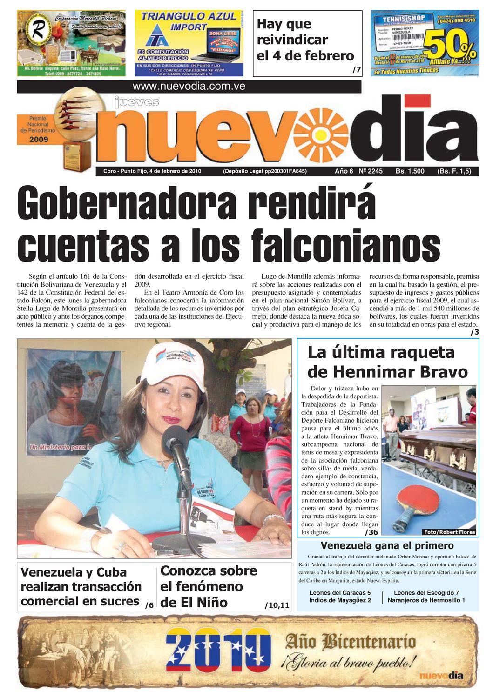 Diario Nuevodia Jueves 04-02-2010 by Diario Nuevo Día - issuu e05b7e4c50f