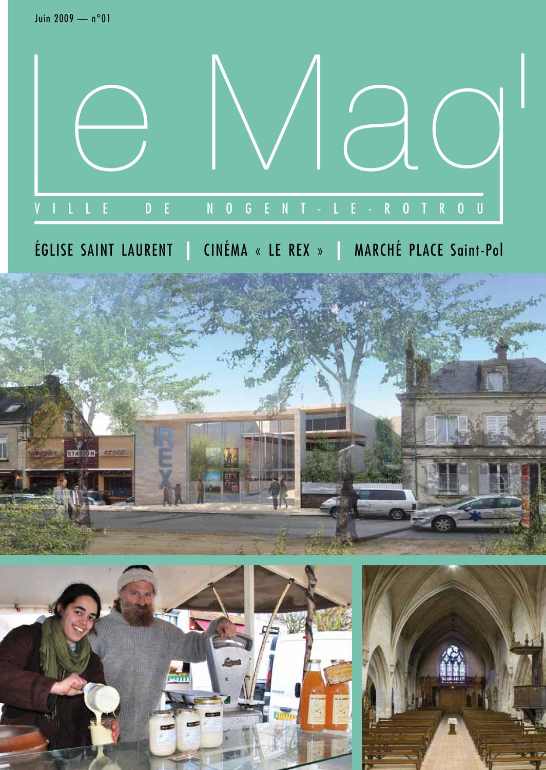 Lemag by philippe aubin issuu for Piscine de nogent le rotrou