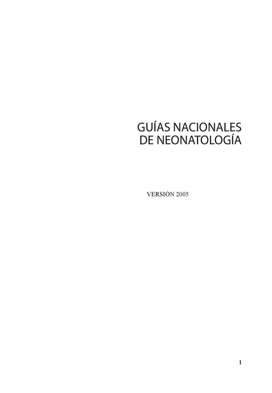 Guia Nacional Neonatologia by Iva Ureta - issuu
