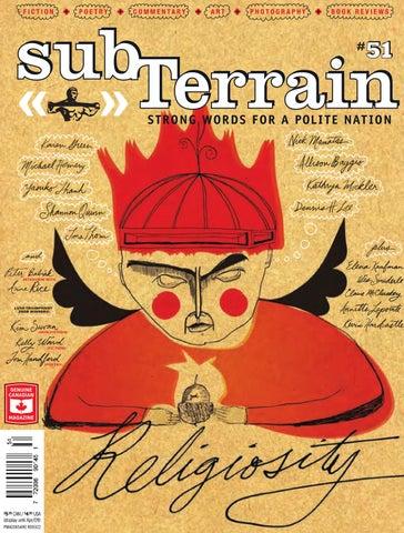 subTerrain 51 by Brian Kaufman - issuu