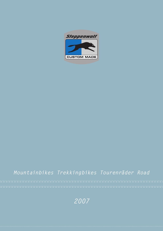 Steppenwolf Bikes 2007 by Domenic Bernt - issuu