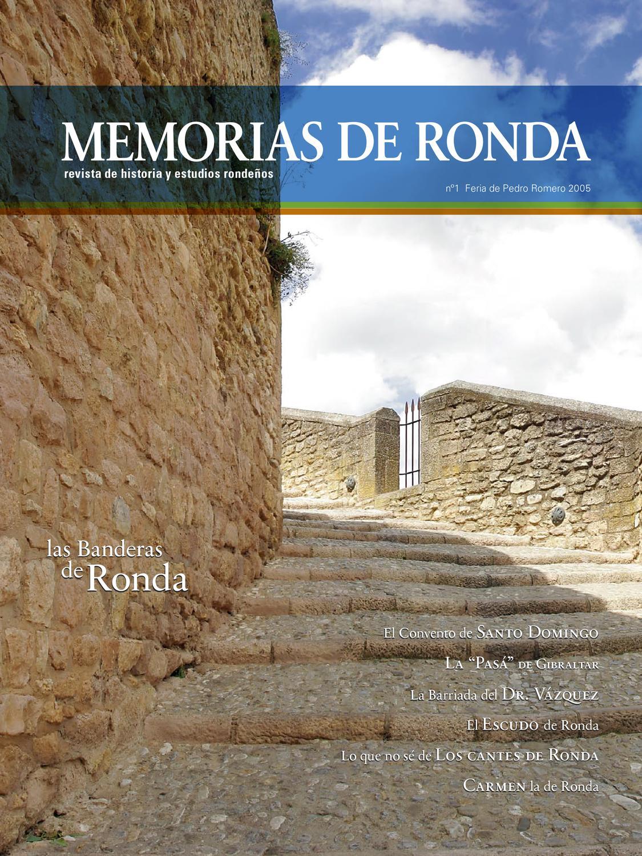 Memorias de Ronda - N 1 by Turismo de Ronda - issuu