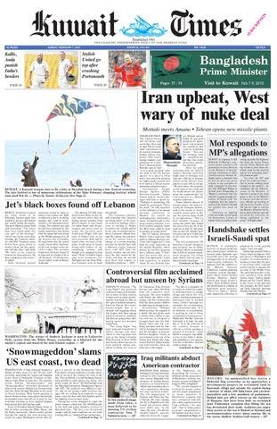 796ab4acd5a50 7 Feb by Kuwait Times - issuu