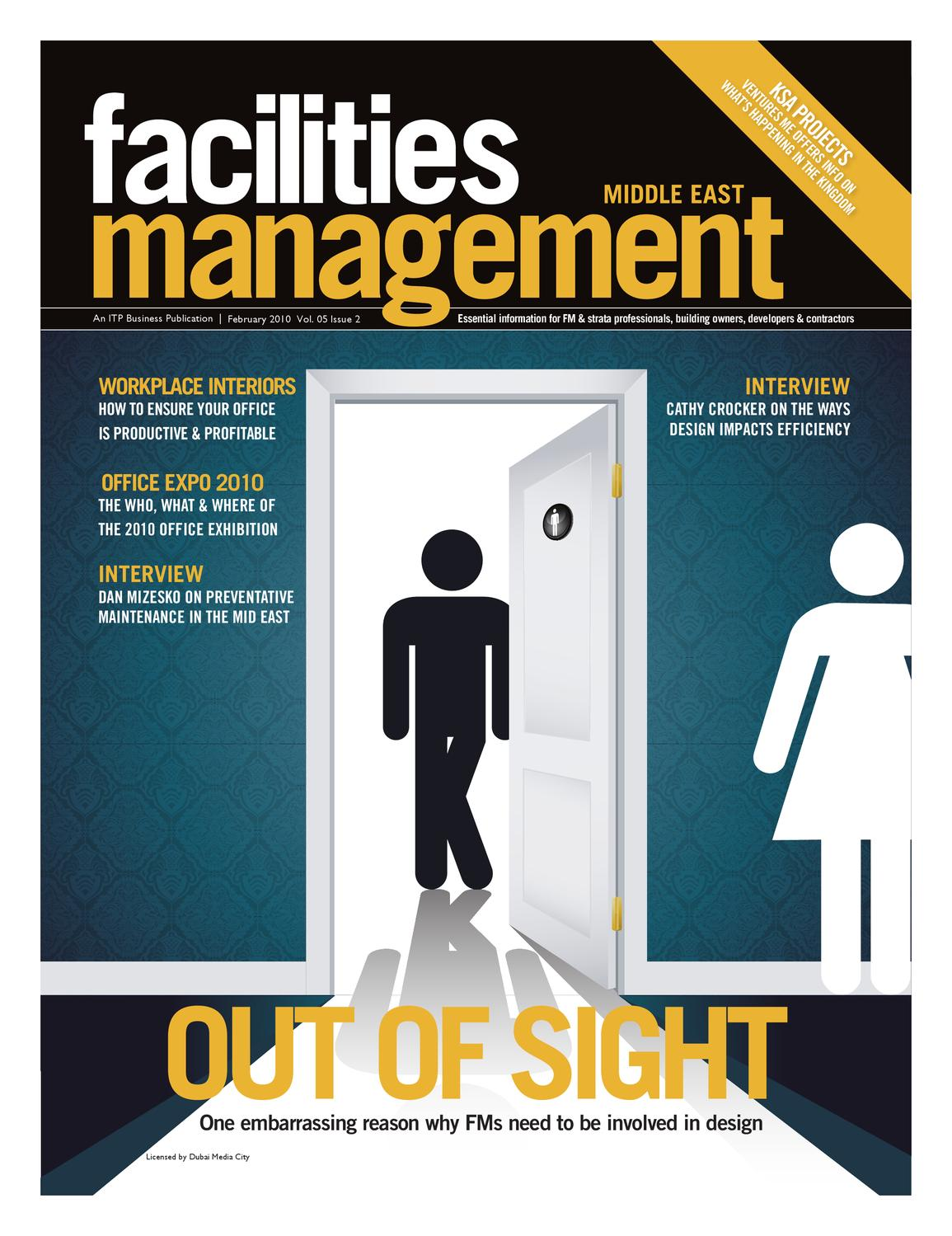 Facilities Management Middle East - Feb 2010 by ITP Business