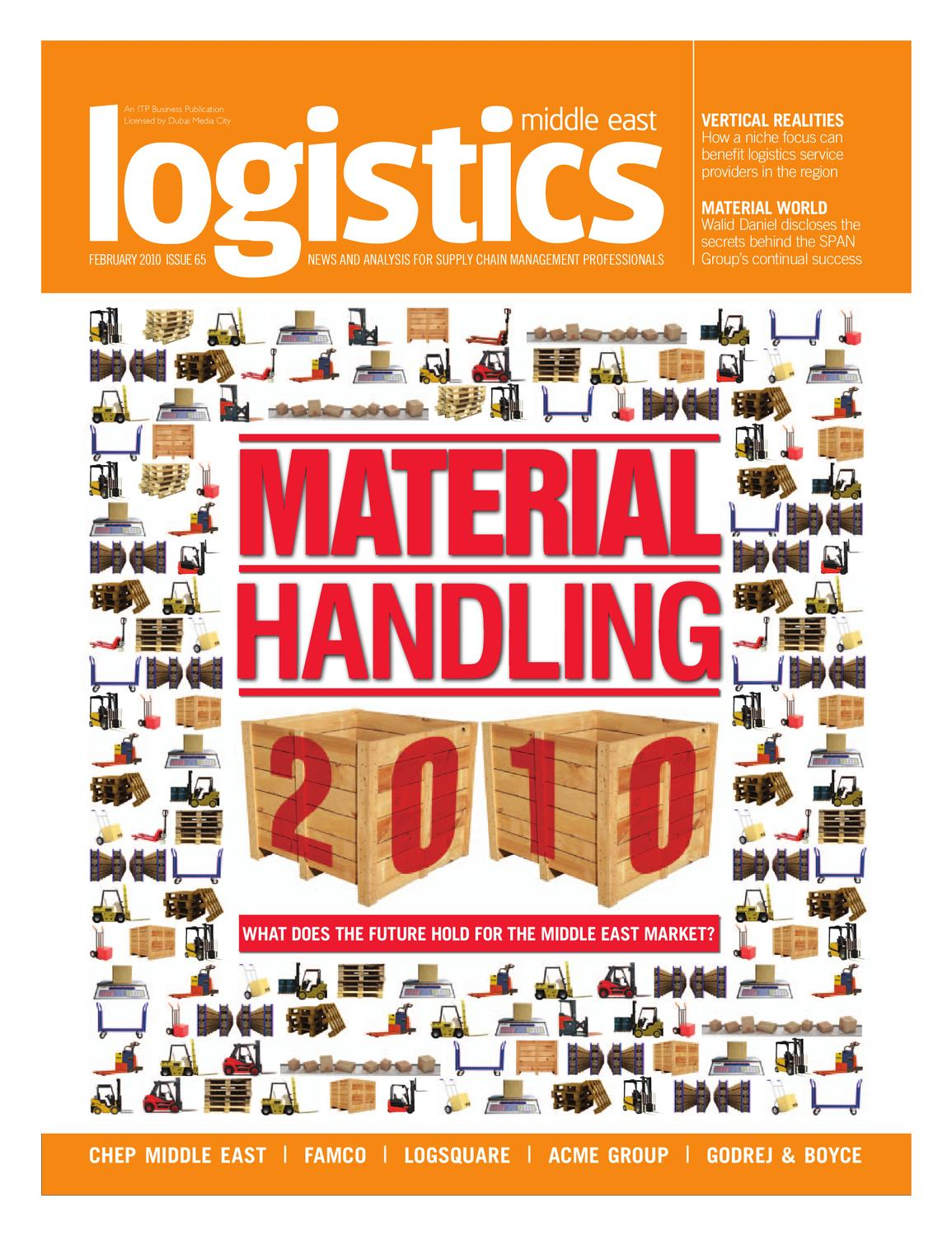 Logistics Middle East Feb 2010 By Itp Business Publishing