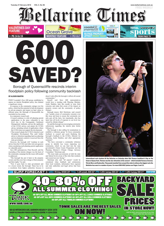 Bellarine Times Feb 9 by Surf Coast News Australia Pty Ltd - issuu cd7371c64fb