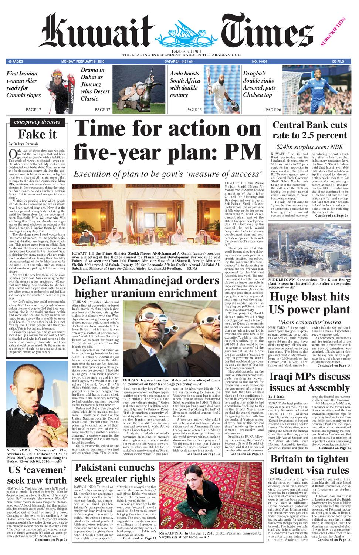 8 Feb By Kuwait Times Issuu