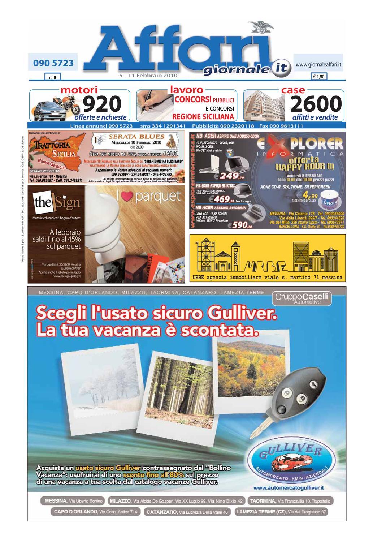 Giornale Affari 5 Febbraio 2010 by Editoriale Affari Srl - issuu 5e741fa7ccc