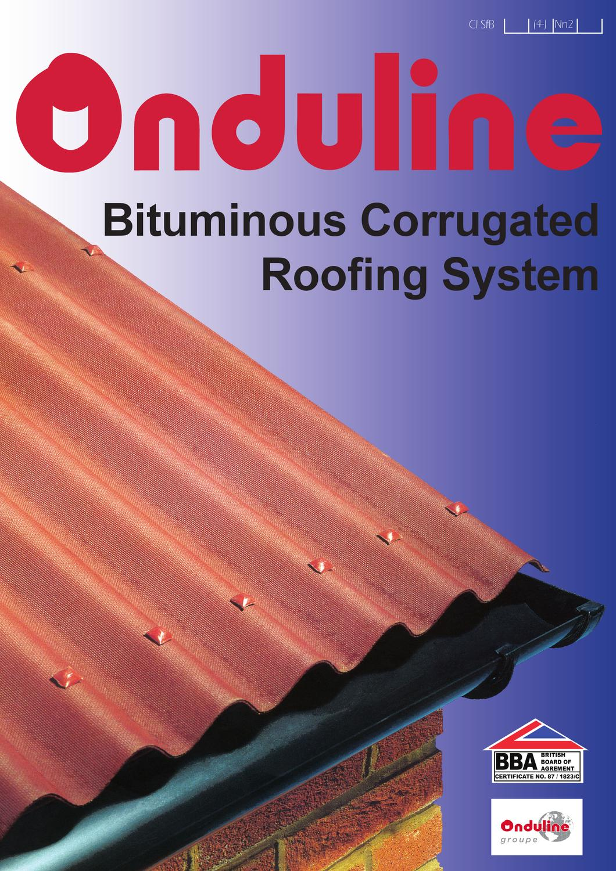 Green Onduline Corrugated  Bitumen Roofing Sheets 950mm x 200mm x 3mm