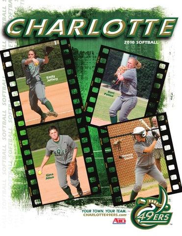 2010 Charlotte 49ers Softball Media Guide by Charlotte 49ers